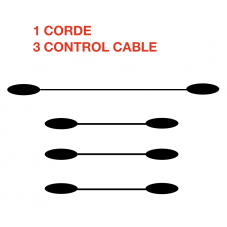 1 Corde 3 Cables (express)